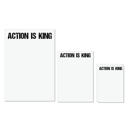 Action king | Action is King