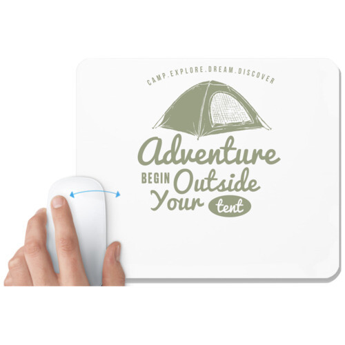 Adventure | Adventure begins outside the tent