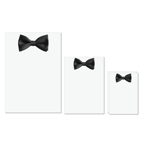 Bow Tie | Black bow tie