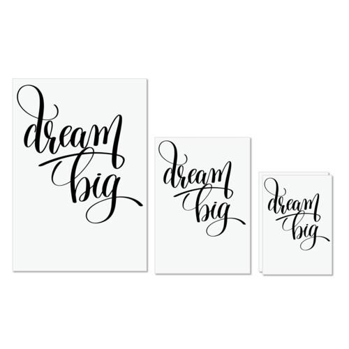 Calligraphy | Dream big