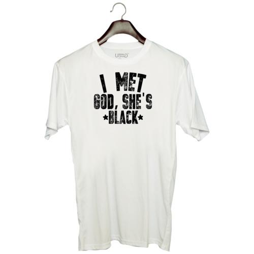 | i met , she's black