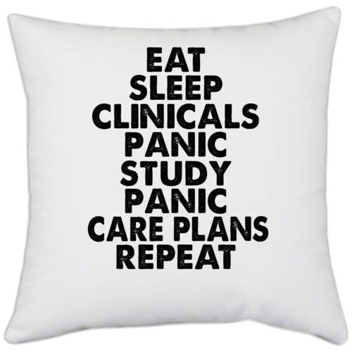 | eat sleep clinicals panic study