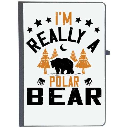 Winter, Bear   I'm really a polar bear