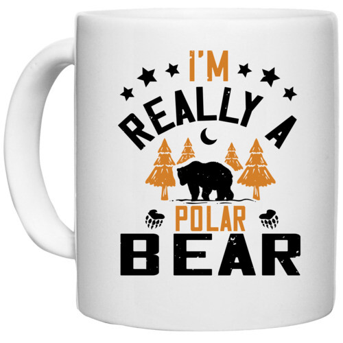 Winter, Bear | I'm really a polar bear