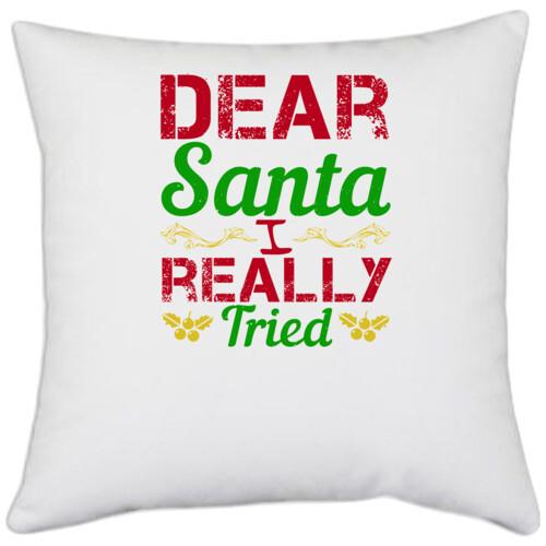 Christmas | Dear Santa, I really tried