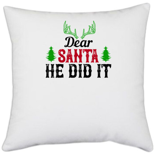 Christmas | Dear Santa, he did it
